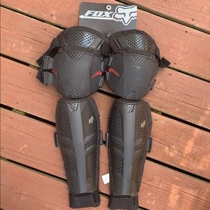 Fox racing shin guards